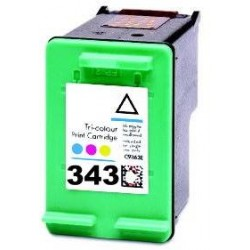 18ml REG.HP Desk Jet 460XX/5740/5745/6520 -C8766E 343 ALTA