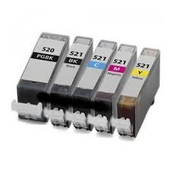 Negro 10ml con chip para Canon Ip3600/IP4600/MP540/MP620/630