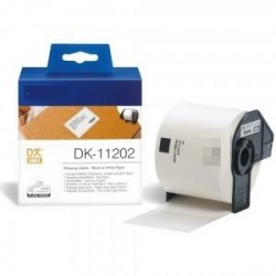 Blanco62mmX100mm 300psc paraBrother P-Touch QL1000 1050 1060