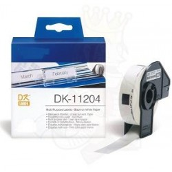 Blanco 17mmX54mm 400psc paraBrother P-Touch QL1000 1050 1060