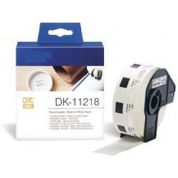 Blanco 24mm 1000psc para Brother P-Touch QL1000 1050 1060