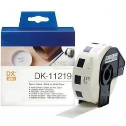 Blanco 12mm 1200psc para Brother P-Touch QL1000 1050 1060