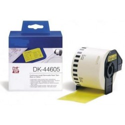 Amarillo 62mmX30.48m para Brother P-Touch QL1000 1050 1060